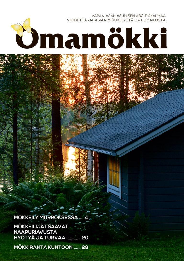 Omamökki-lehden kansi, Pirkanmaa 2020